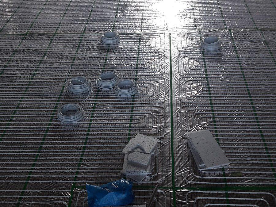 Trwa budowa instalacji ogrzewania