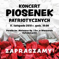 Koncert z okazji Dnia Niepodległości