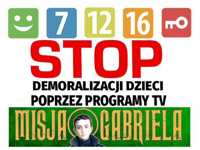 """Podpisz petycję """"Stop demoralizacji dzieci poprzez programy TV!"""""""