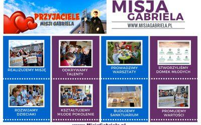 Przyjaciele Misji Gabriela. Aukcje charytatywne.