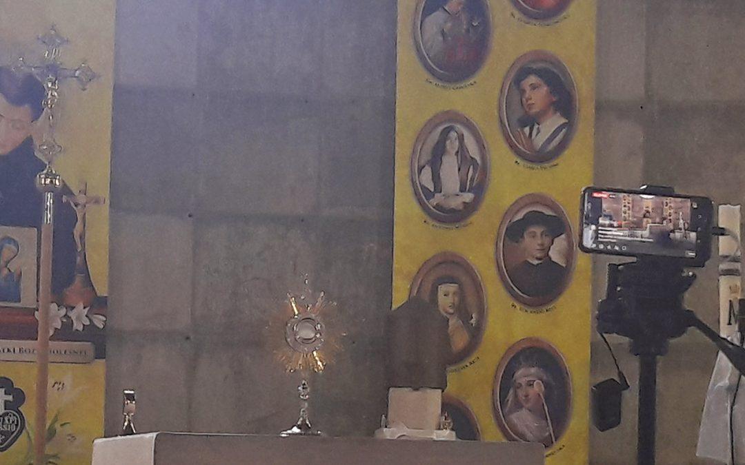 Transmisje Mszy Świętych prowadzonych przez Misję Gabriela w styczniu 2021 r.