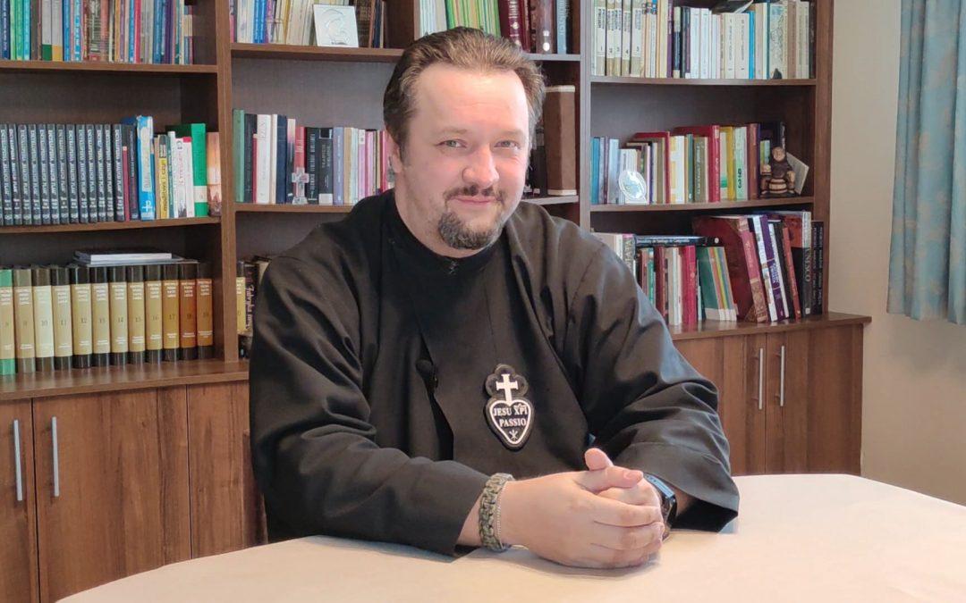 Podziękowania o. Przemysława Śliwińskiego CP dla parafian i darczyńców Misji Gabriela.